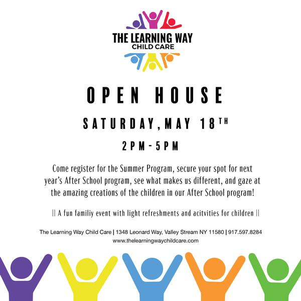 Open House at The Learning Way