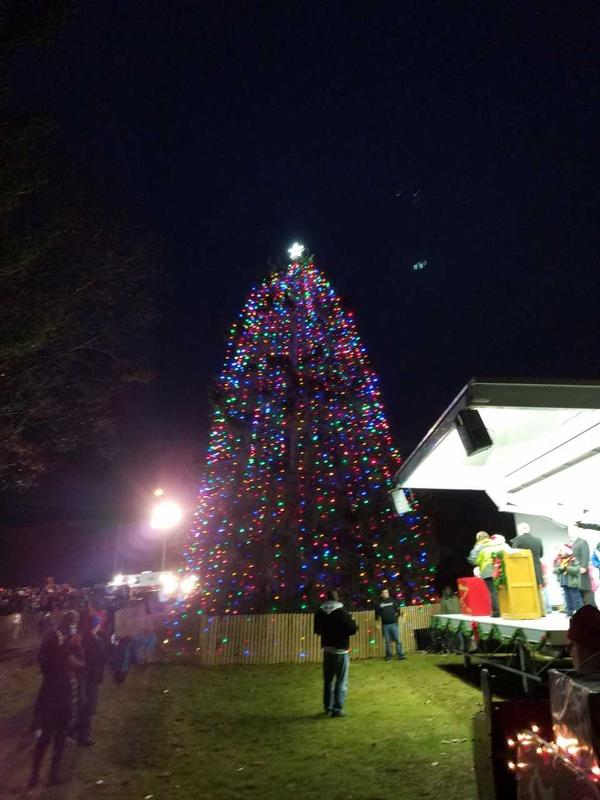 HOLIDAY TREE LIGHTING CEREMONY at Orient Beach State Park