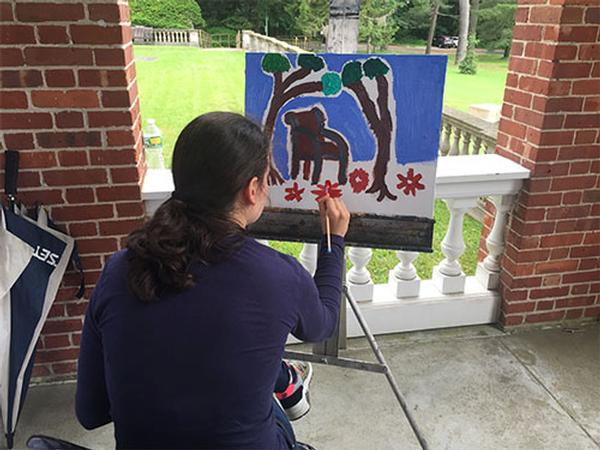 Art Compass: Building Social and Vocational Skills for Teens and Young Adults with Autism at Nassau County Museum of Art