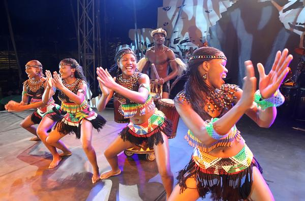 Cirque Zuma Zuma at Westchester Community College - Academic Arts Theatre