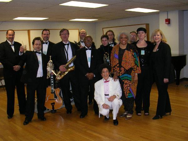 Carol Sudhalter's 13-piece Astoria Jazz Band in concert at Sunnyside Reformed Church