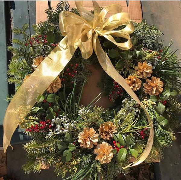 Christmas Wreath Workshop at Old Westbury Gardens
