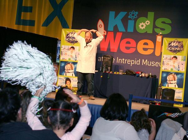 Kids Week at the Intrepid Museum at Intrepid Sea, Air and Space Museum