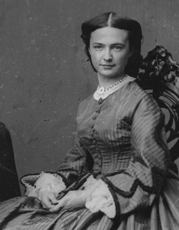 ONLINE Libbie Custer: Widow of the famous colonel from Custer's Last Stand at St. Paul's Church National Historic Site