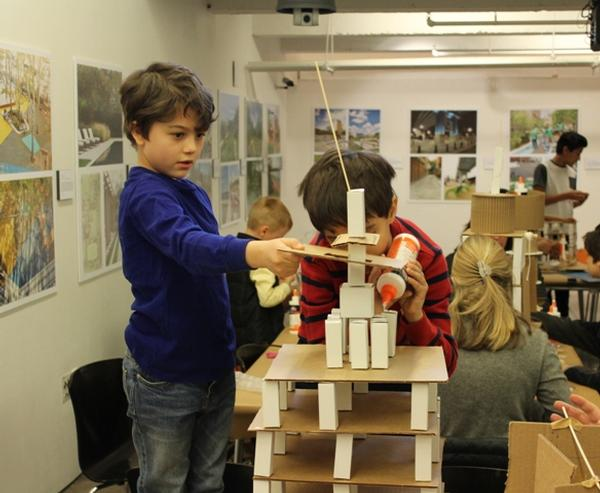 Family Day: Skyscrapers at Center for Architecture