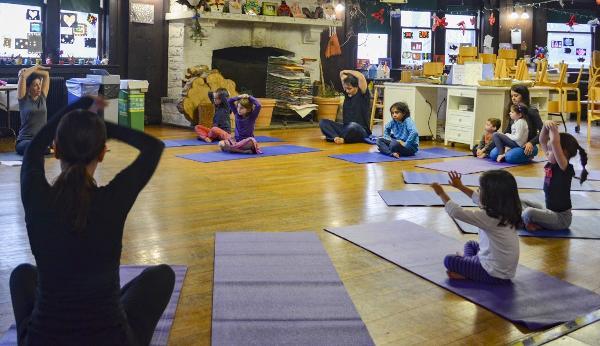 Restful Yoga for Little Hibernators at Wave Hill