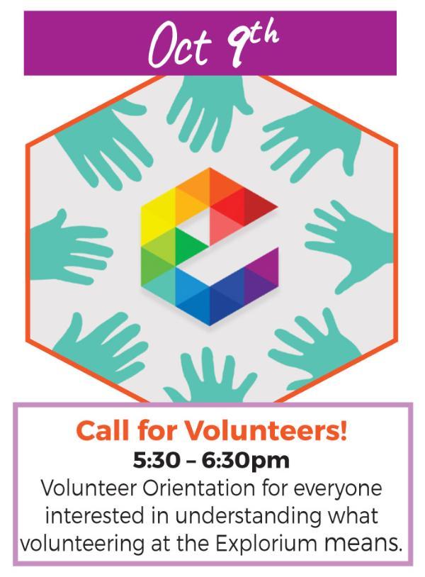 Call for Volunteers! at Long Island Explorium