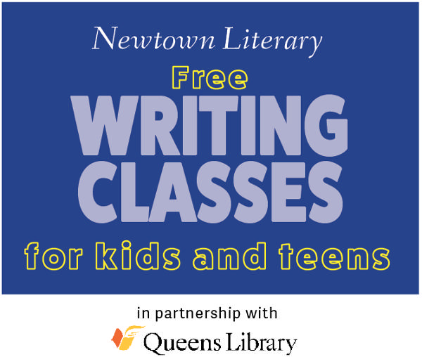 Free Creative Writing Class for Kids: The Character Workshop at Queens Library: Briarwood Branch