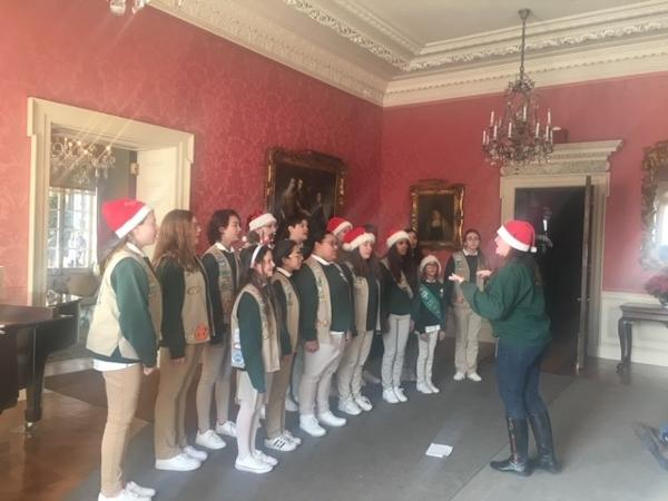 Girl Scouts Chorus of Nassau County Concert at Old Westbury Gardens