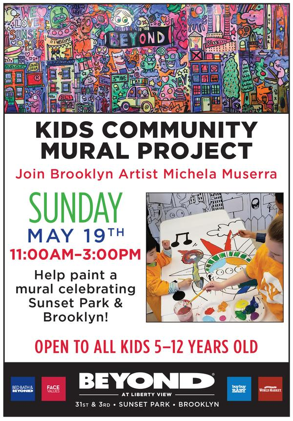 Kids Community Mural Project at Beyond at Liberty View