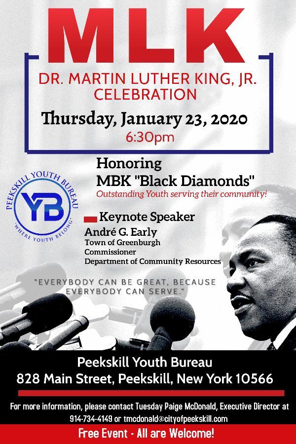 Peekskill Dr. Martin Luther King, Jr. Celebration at Peekskill Youth Bureau