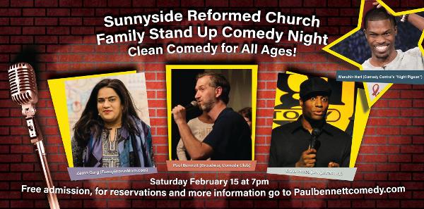 Sunnyside Reformed Church Family Comedy Night at Sunnyside Reformed Church