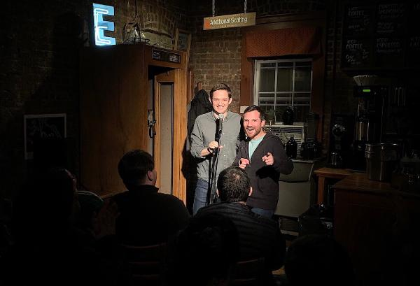 Living Room Comedy Show at Postmark Cafe