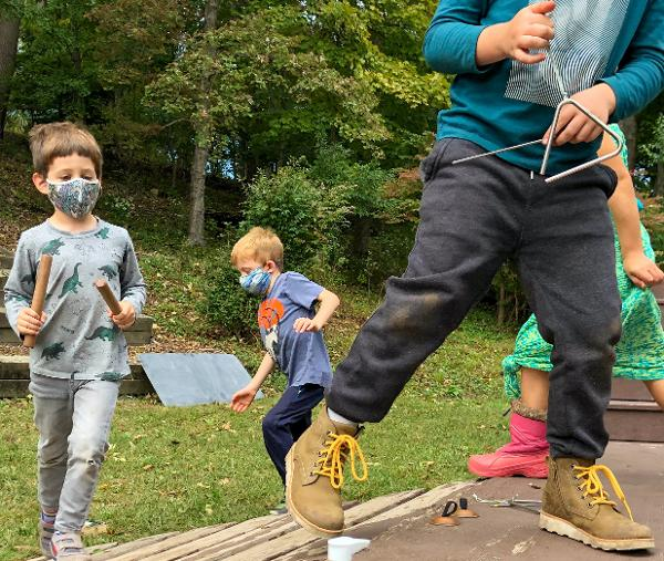 Kindergarten Play Day & Open House at Blue Rock School