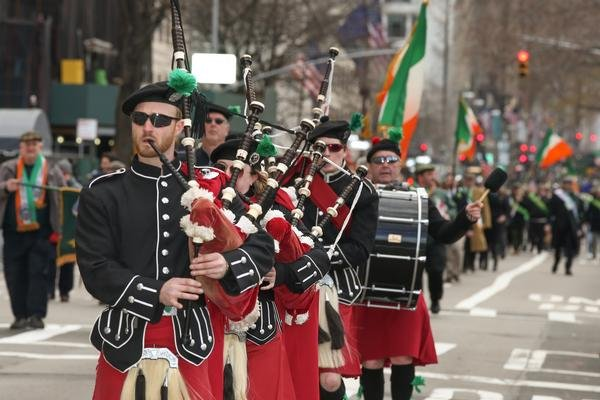 New York City St. Patrick's Day Parade at Fifth Avenue