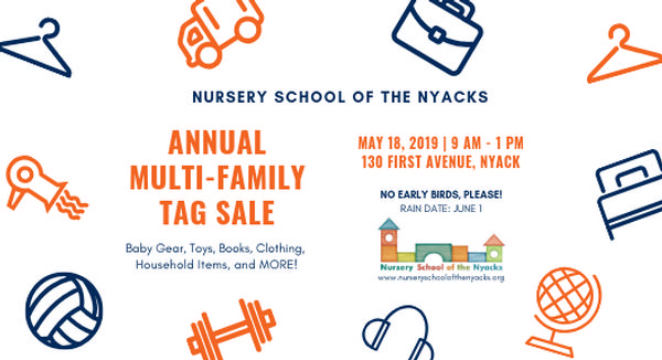 Nursery School of the Nyacks Multi-Family Tag Sale at Nursery School of the Nyacks