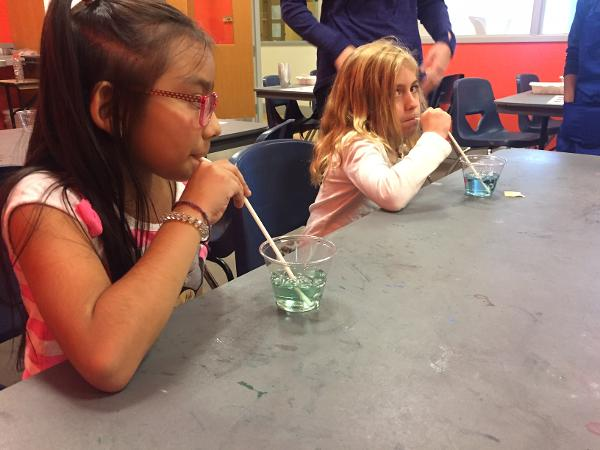 Family Science Workshop at Hudson River Museum