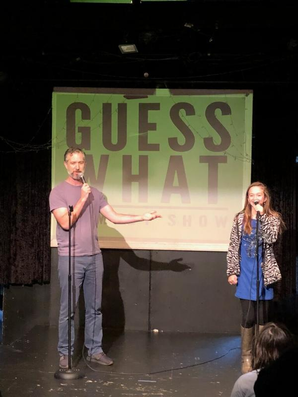 Guess What: A PG Stand Up Comedy Show for Families at The Creek and the Cave Comedy Club