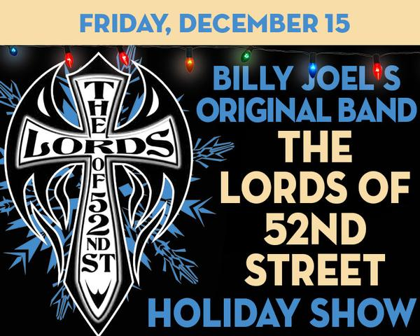 Lords of 52nd Street – Billy Joel's Original Band – Lords a Leapin' at The Suffolk Theater