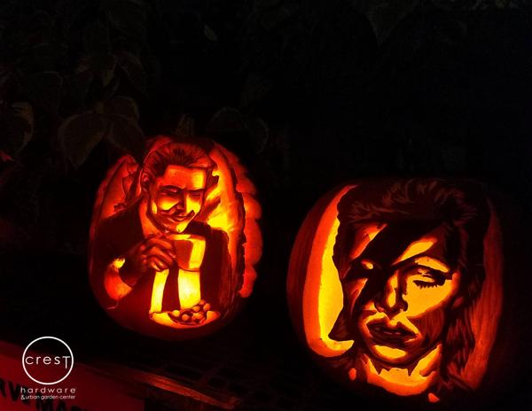 Crest Hardware's 9th Annual Pumpkin Carving Contest at Crest Hardware & Urban Garden Center