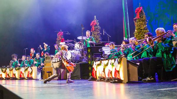The Brian Setzer Orchestra's 14th Annual Christmas Rocks! Tour at NYCB Theatre at Westbury