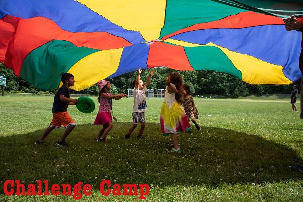 Challenge Camp Open House at The Leffell School