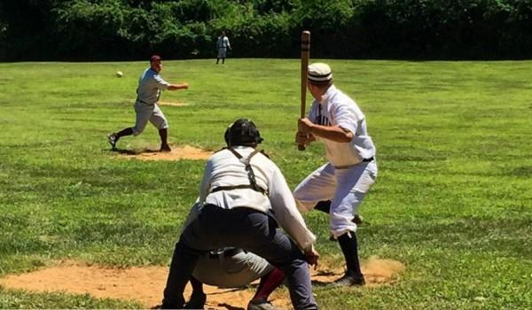 Old Time Base Ball at Old Bethpage Restoration Village