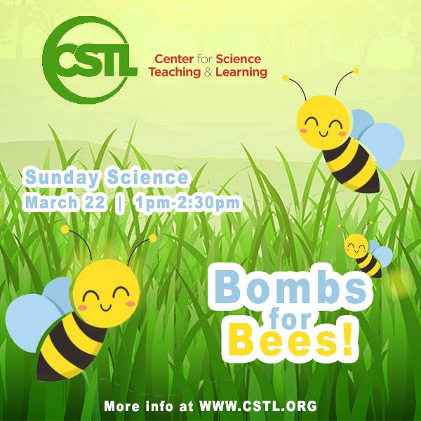Sunday Science – Bombs for Bees! at The Center for Science Teaching & Learning