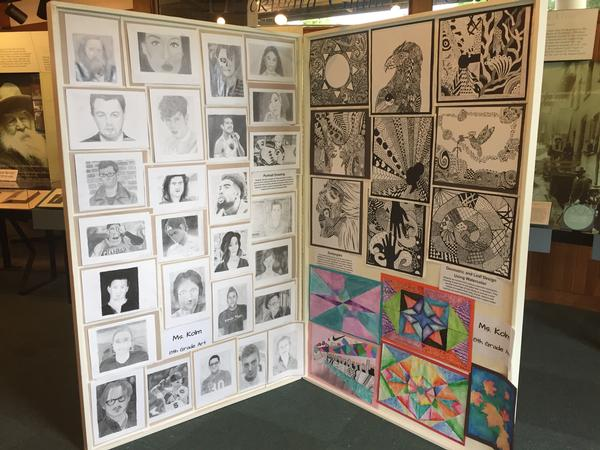 Art Exhibition Reception featuring South Huntington School District K-8 at Walt Whitman Birthplace State Historic Site