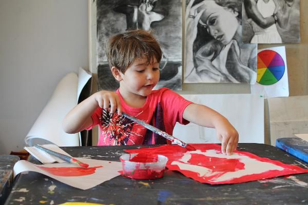 Family Day: Guided Tour + Workshop at One River School of Art + Design