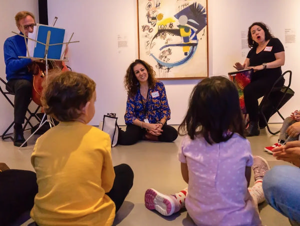The Sound of Color Series: Six-Week Musical Gallery Tour + Art Workshop at The Jewish Museum