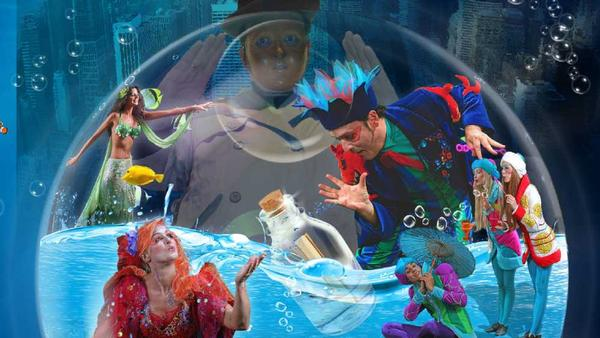 'B - The Underwater Bubble Show' at St. George Theatre