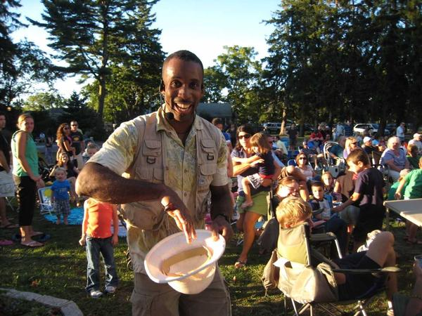 Family Fridays: Ranger Eric at The Common Ground