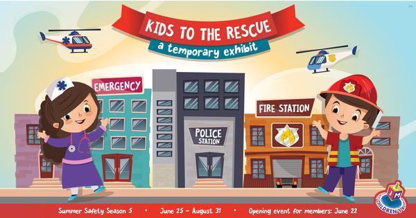Kids to the Rescue at Jewish Children's Museum