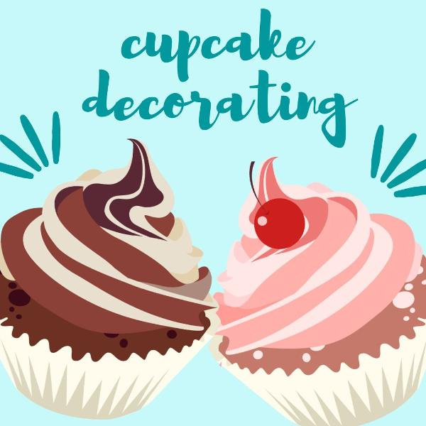 Cupcake Decorating Showdown at Teen Center at The Patchogue-Medford Carnegie Library
