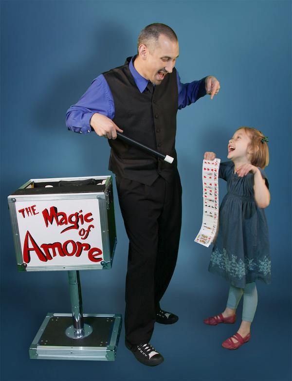 The Magic of Amore at Deer Park Public Library