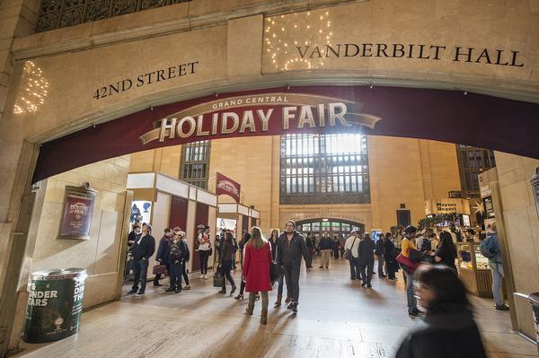 Grand Central Terminal Holiday Fair