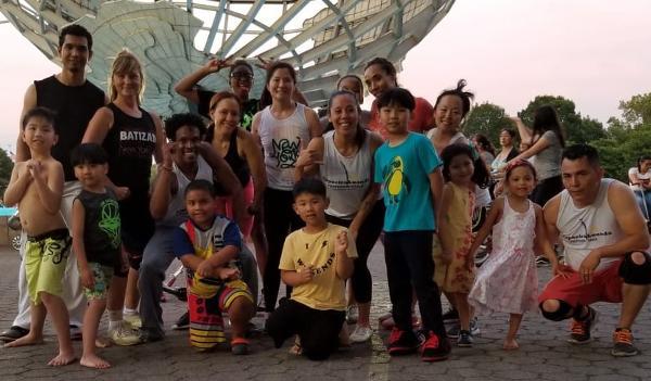 Free Capoeira Classes at Flushing Meadow Corona Park - Unisphere
