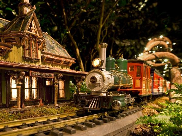 28th Annual Holiday Train Show at The New York Botanical Garden