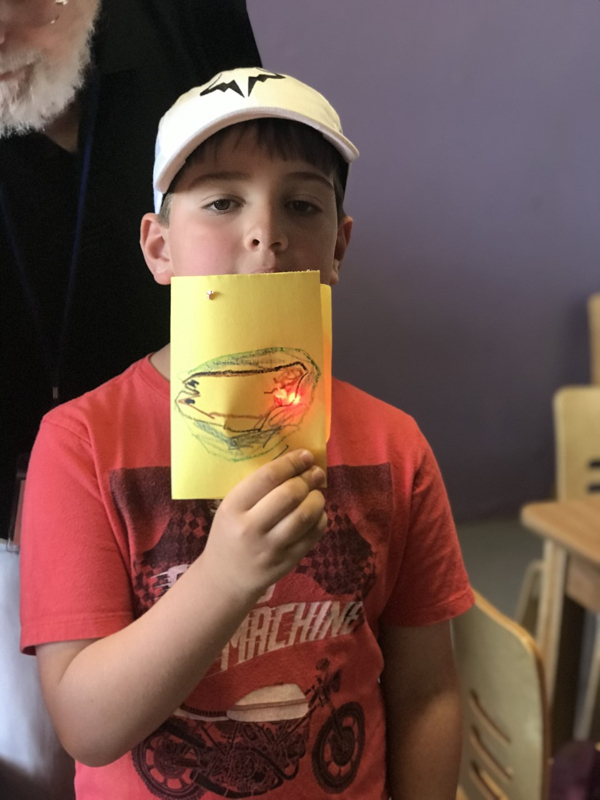 Science Sunday: Circuits and Greeting Cards at Westchester Children's Museum
