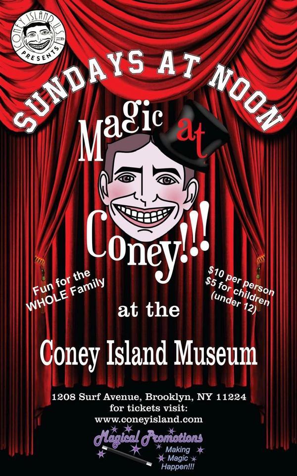 Magic at Coney at Coney Island Museum