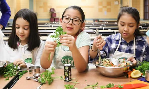 Family Cooking Class with Allergic to Salad at Queens County Farm Museum