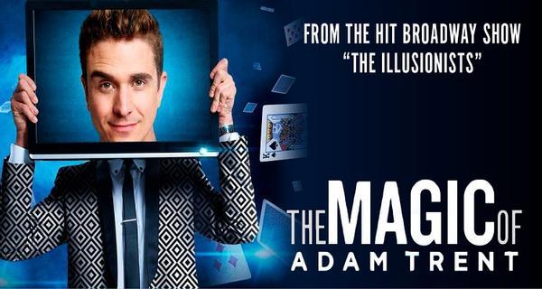 The Magic of Adam Trent at The Ridgefield Playhouse