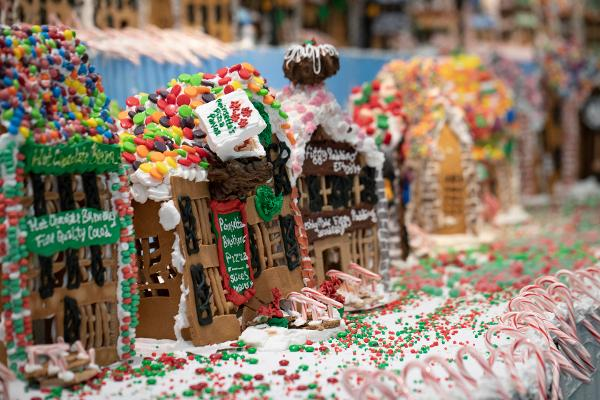 Gingerbread Lane 2019 at New York Hall of Science