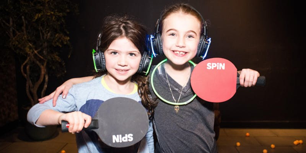 Kids' Silent Disco and Ping Pong Party! at Spin New York