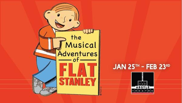 The Musical Adventures of Flat Stanley at The Argyle Theatre