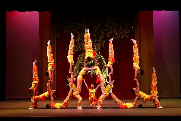 THE PEKING ACROBATS at Mayo Performing Arts Center
