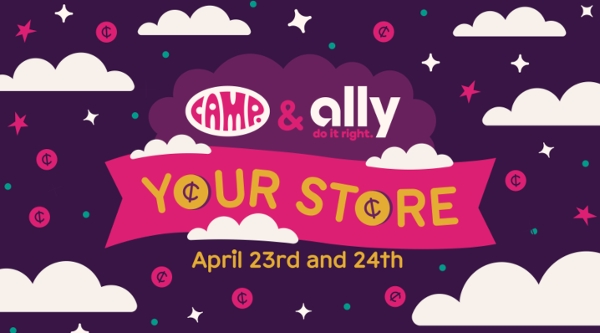 Kids Takeover CAMP Stores for Financial Literacy Month at CAMP
