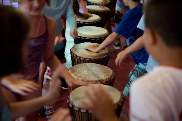 Free Public Program: African Drumming at The Nature Place Day Camp