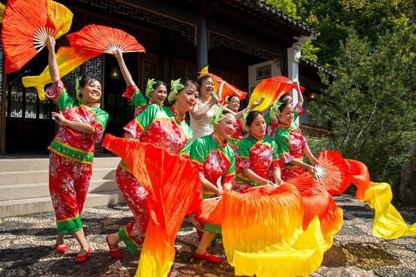 16th Annual Autumn Moon Festival at Snug Harbor Cultural Center and Botanical Garden, New York Chinese Scholar's Garden